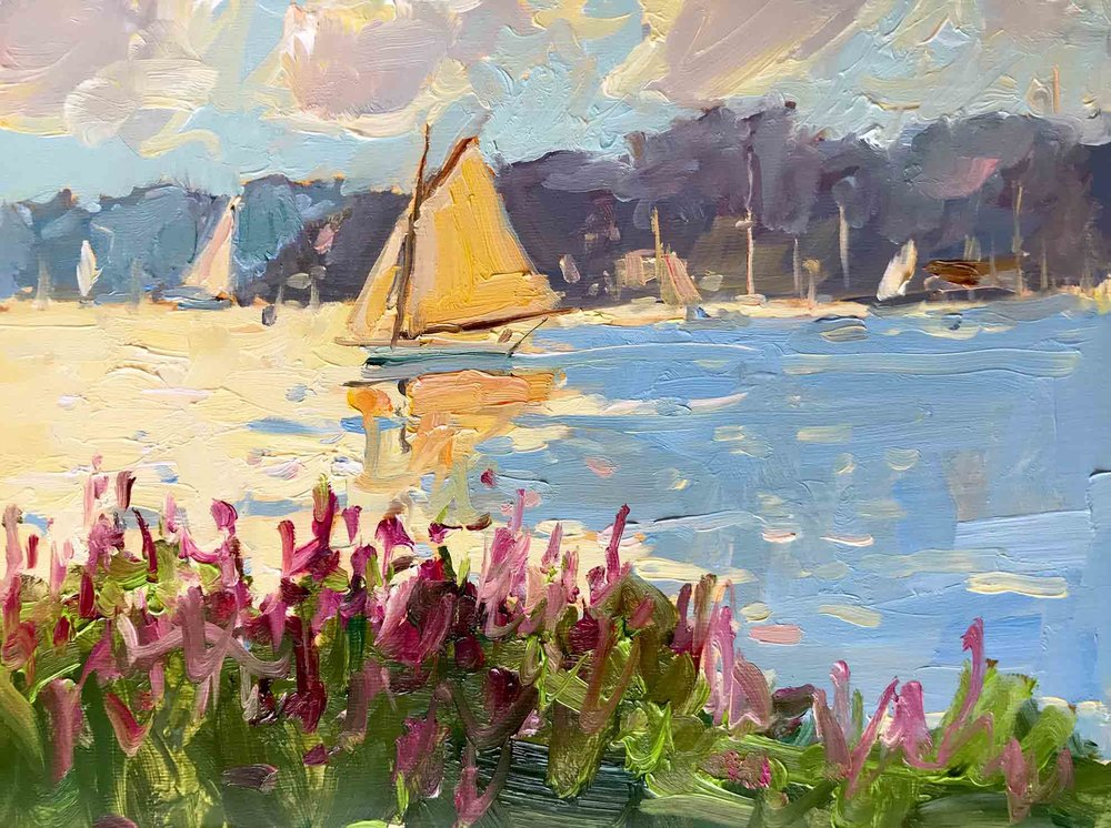 Summer Sails in Boothbay Harbor