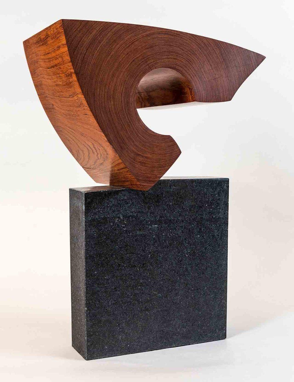Khamsin ( Bubinga wood on Granite) $7,200