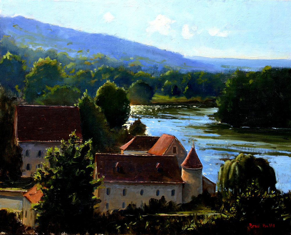 Village by the River, Angles-sur-l'Anglin