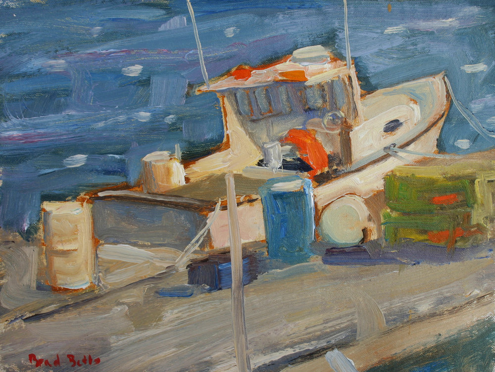 4. Betts At The Dock 6 x 8 Oil On Linen $600.jpg