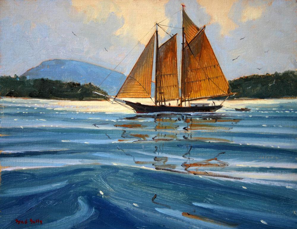 Sailing Somes Sound