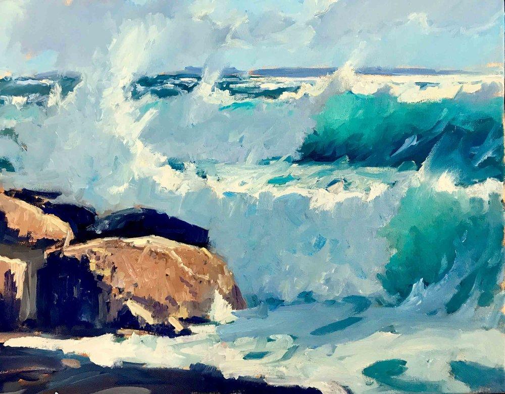 Surf IV, 16x20, $3,800