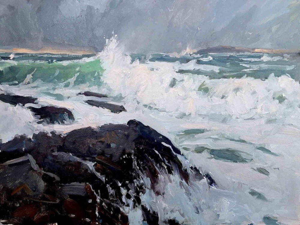 Surf I, 11x14, $1,800