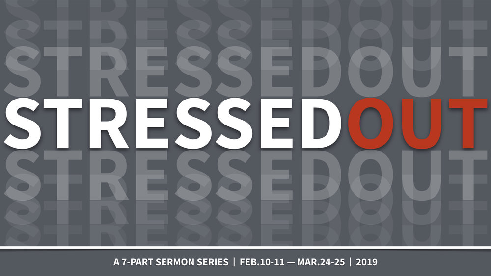 STRESSED OUT | SERIES - HOW DO I HANDLE STRESS? | 2.10.2019 | WATCH | LISTENDEALING WITH DIFFICULT PEOPLE | 2.17.2019 | WATCH | LISTENLETTING GO OF THE PAST | 2.24.2019 | WATCH | LISTENDEALING WITH FUTURE STRESS | 3.3.2019 | WATCH | LISTENSLOW DOWN | 3.10.2019 | WATCH | LISTENWHEN EMOTIONS CAUSE STRESS | 3.17.2019 | WATCH | LISTENSURVIVING LIFE'S WORST MOMENTS | 3.24.2019 | WATCH | LISTEN