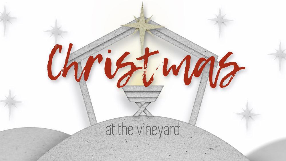 CHRISTMAS AT THE VINEYARD: FEAR NOT THIS CHRISTMAS - PHIL CHORLIAN   12.9.2018   WATCH