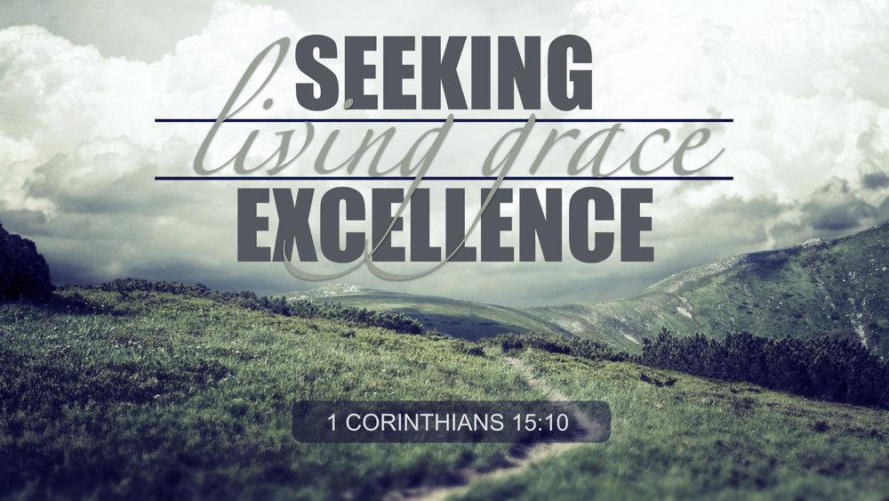 seeking excellence, living grace - MARY ANNE DE LA TORRE   5.27.2018   WATCH