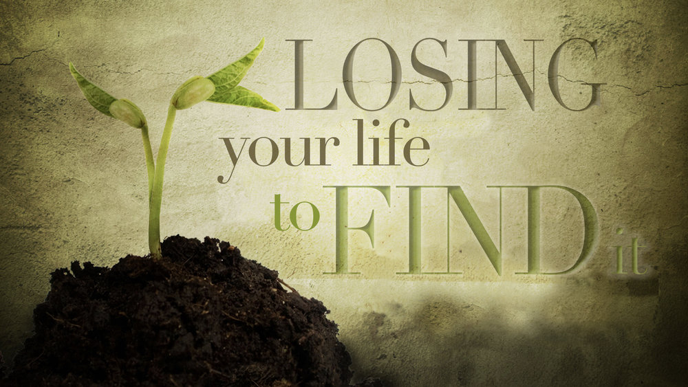 LOSING YOUR LIFE TO FIND IT - PHIL CHORLIAN   1.21.2018   WATCH