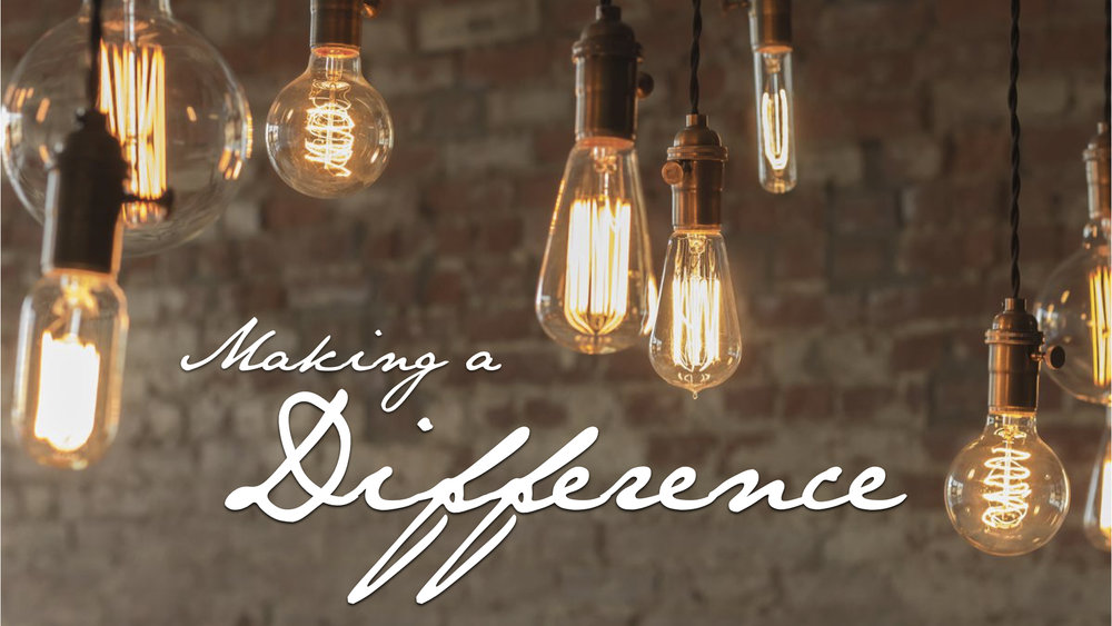 MAKING A DIFFERENCE - PHIL CHORLIAN   1.14.2018   WATCH