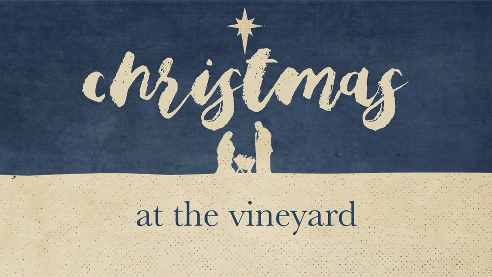 CHRISTMAS AT THE VINEYARD   SERIES - JOSEPH: A LIFE OF INTEGRITY   12.10.2017   WATCHA CLOSER LOOK AT JESUS   12.17.2017   WATCHTHE FIRST CHRISTMAS   12.24.2017   WATCHPREPARING FOR THE NEW YEAR   12.31.2017   WATCH