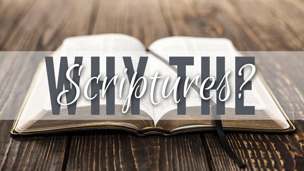 WHY THE SCRIPTURES? - GRIMALDI MARTINEZ   9.17.2017   WATCH