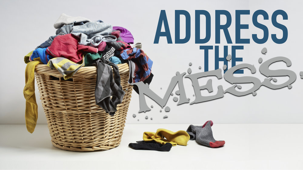 """ADDRESS THE MESS - JESUS ROSE TO """"ADDRESS THE MESS""""   4.16.2017   WATCHYOUR MESS CAN BRING YOU CLOSER TO GOD   4.23.2017   WATCHDON'T AVOID … BECOME   4.30.2017   WATCH"""