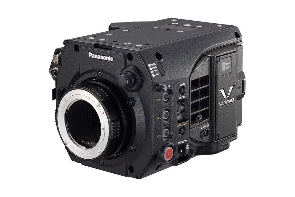 Panasonic Cinema VariCam LT 4K S35 - 250 EUR/day, 800 EUR/week