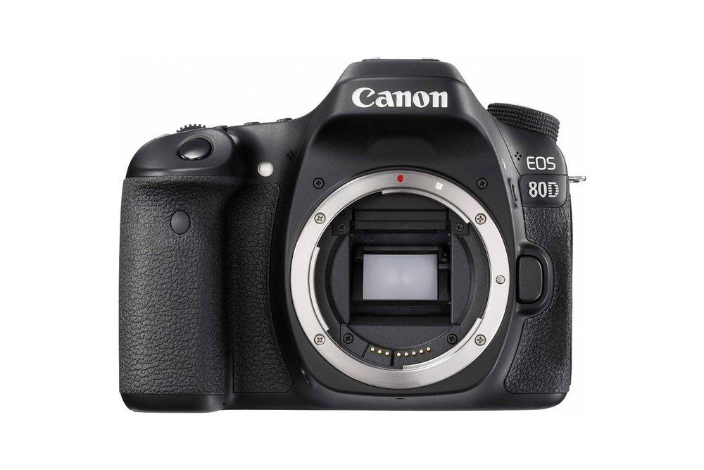 Canon 80D - 30 EUR/day