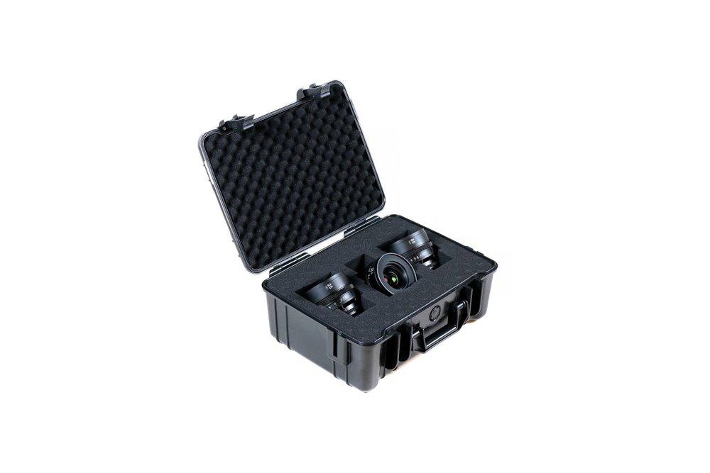 SLR Magic Apo HyperPrime Cine 4 Lens Set (25, 35, 50 & 85 mm) - 150 EUR/day, 550 EUR/week