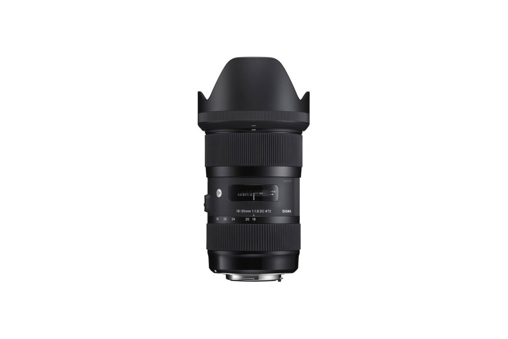Sigma 18-35 mm f/1.8 DC HSM Art Canon EF Mount - 40 EUR/day