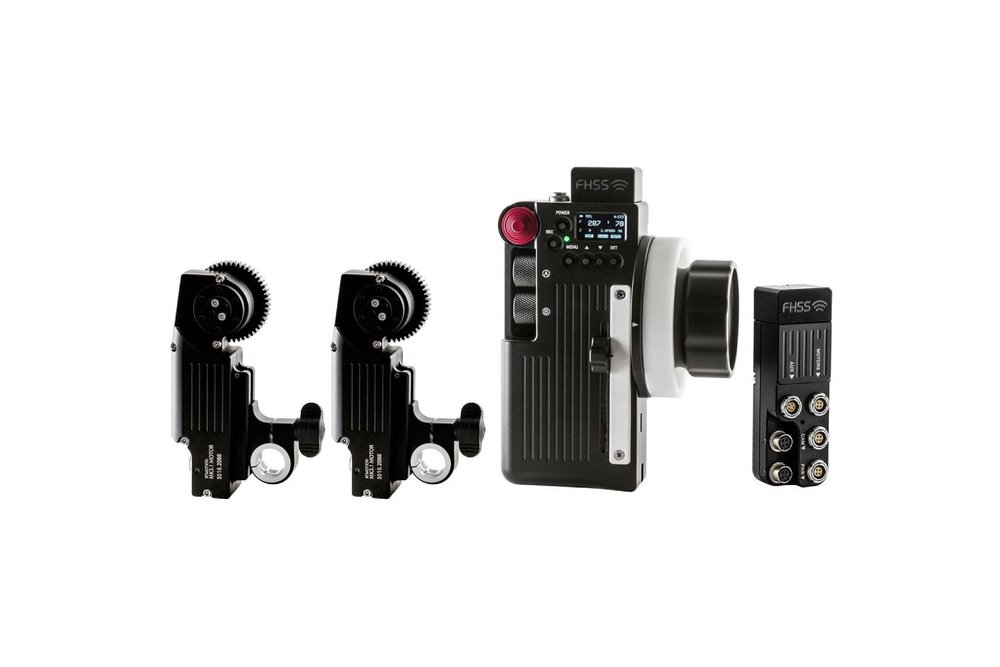 RTMotion Wireless Lens Control Kit with Transmitter - 2 motors - 200 EUR/day