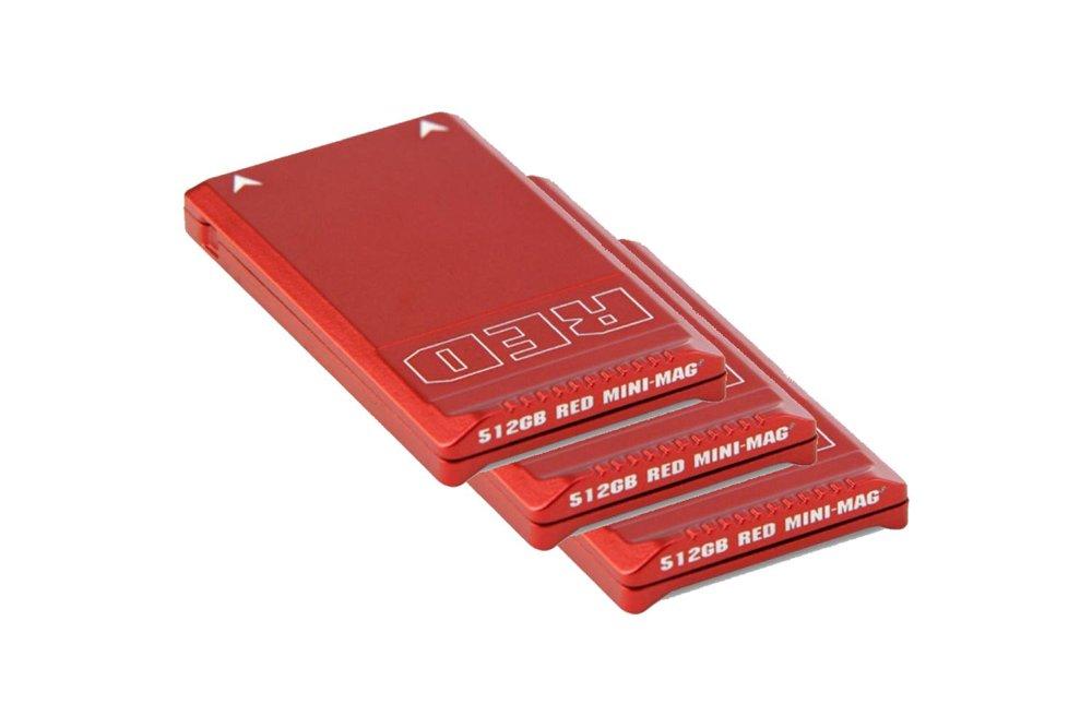 RED MINI-MAG SSD 512 GB 3 Piece Set - 400 EUR/day, 1200 EUR/week