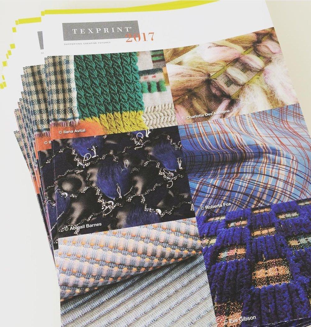 Texselect catalogue - 2017. Texselect. London
