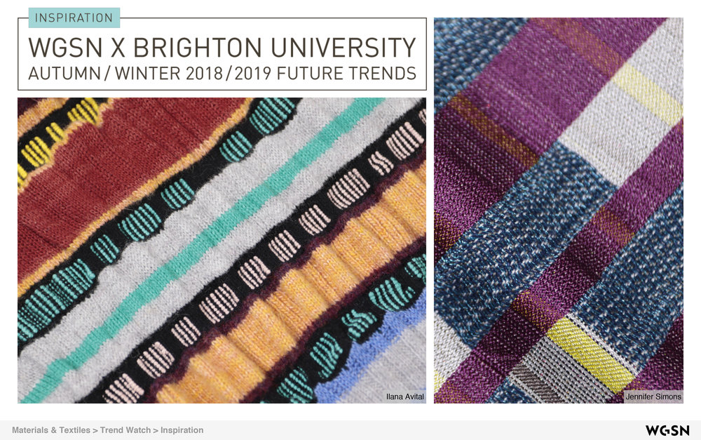 WGSN trends… - Brighton University 2018-2019 feature