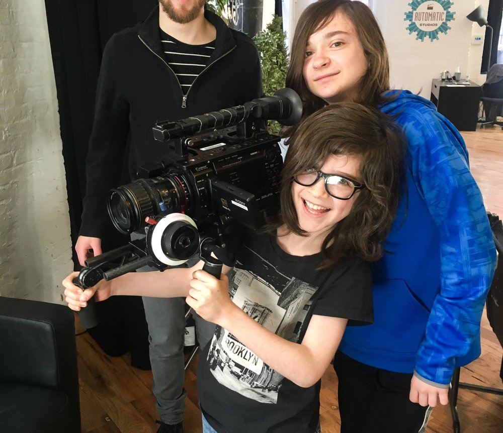 Our Youth Film Programs - In our unique Movie Arts© program, students learn the art of professional filmmaking through hands-on experience, active collaboration, and teamwork. Find more information on the Youth Programs side of our site.