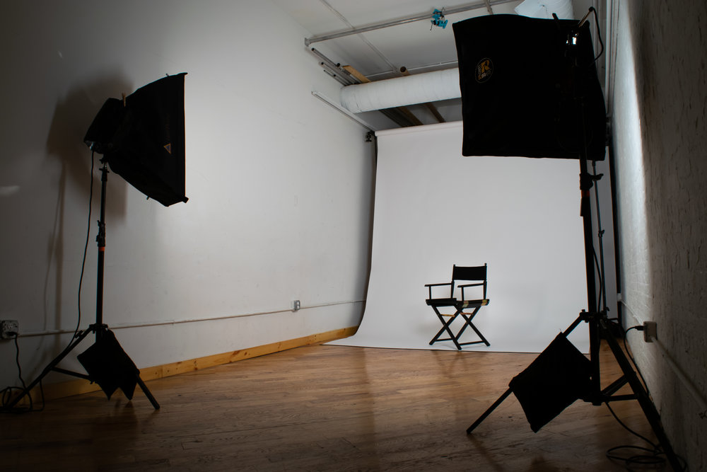 Studio rental - Perfect for photo shoots, meetings, galleries, and more, our 2,500 sq/ft studio contains two affordable rental spaces that can be fully customized to suit your needs. More information on our studio rentals can be found here.