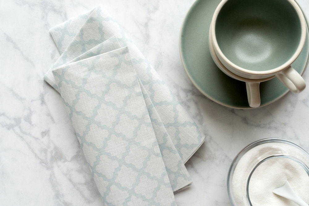the napkins I DwellStudio Dinner Napkin