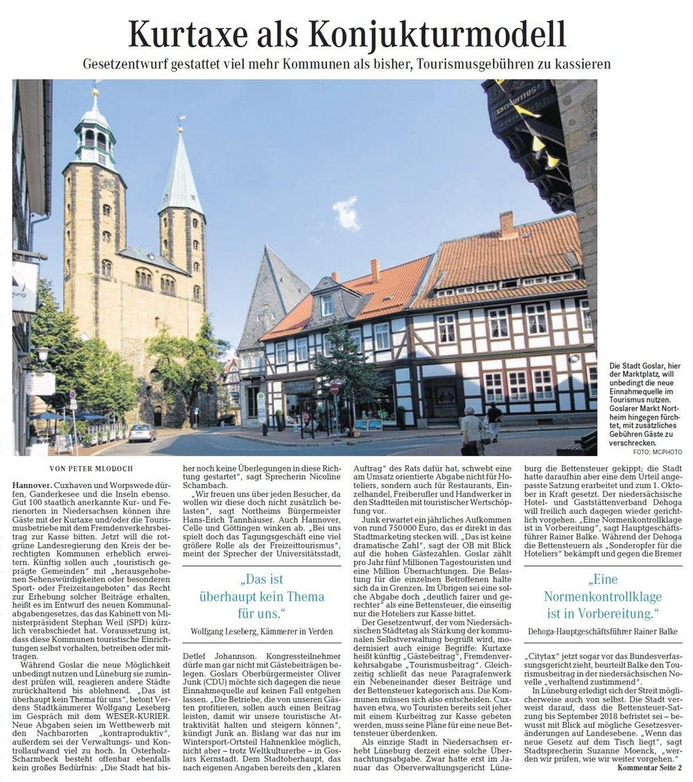 Quelle: Weser-Kurier, 20.11.2015