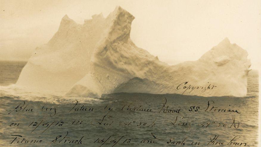 iceberg that sank Titanic