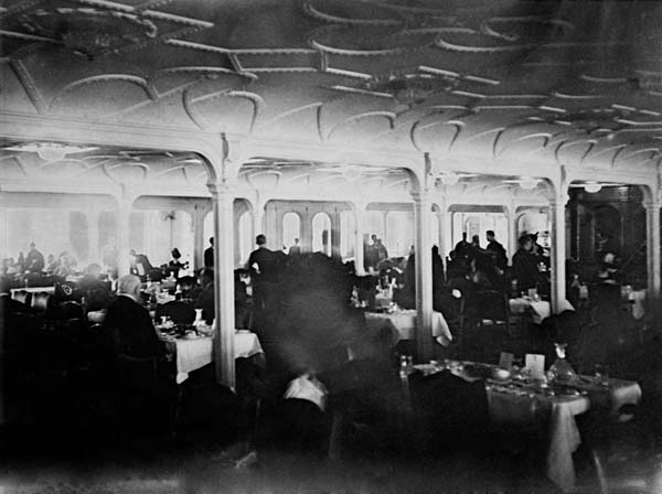 Dining Room of the Titanic