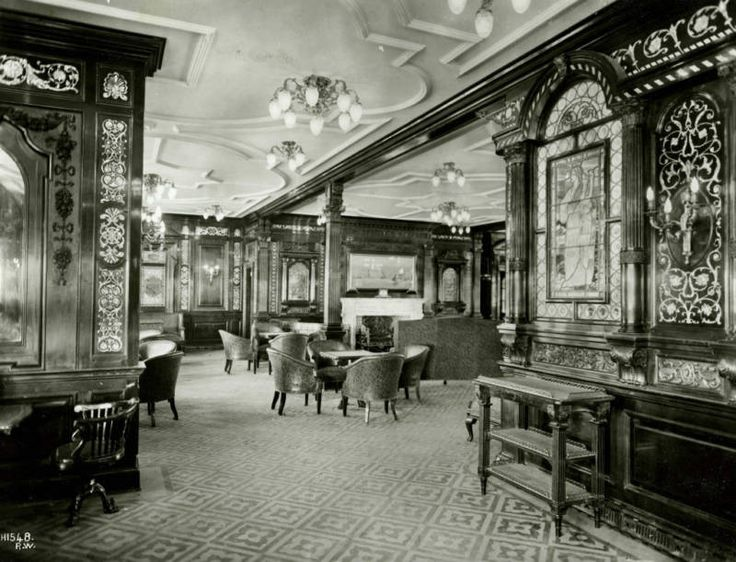 titanicsmoking room