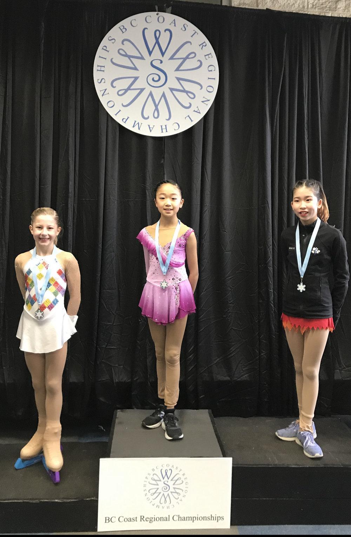 Pre-Juvenile Ladies: Ashley Pang - Gold
