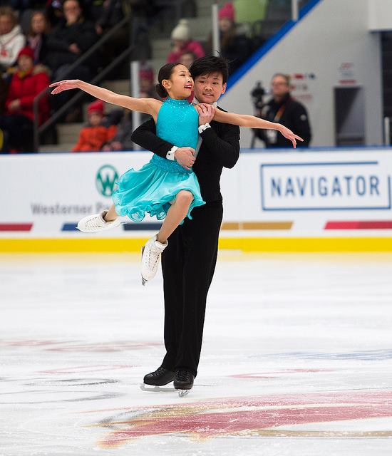 Hailey Yu & Brendan Giang - In Pre-Novice Dance Hailey & Brendan had two beautiful performances to skate to GOLD!