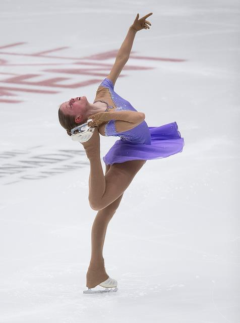 Emily Millard - Competing in the Novice Ladies category, Emily was 2nd in the short program and placed 4th overall.