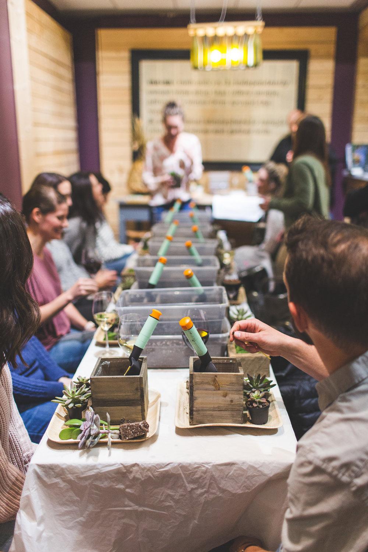 Plantrophy succulent workshop