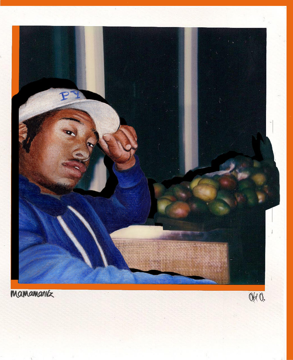 Dany - original polaroid by  Obi O.
