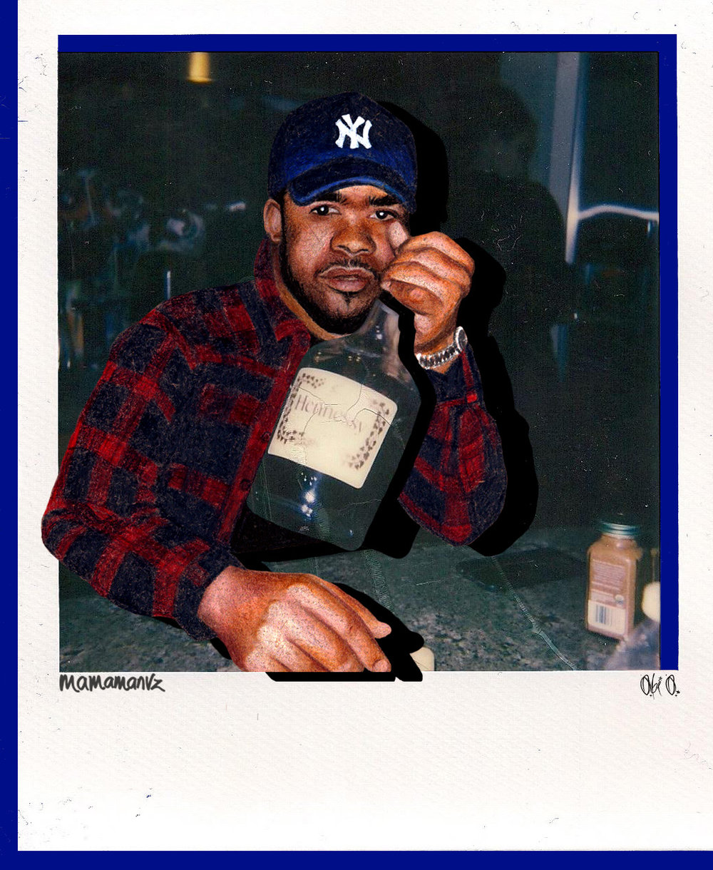 John John - original polaroid by  Obi O.