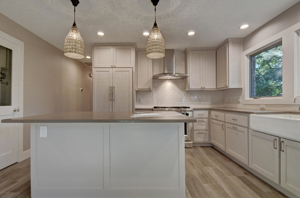remodeled kitchen in Austin, Texas