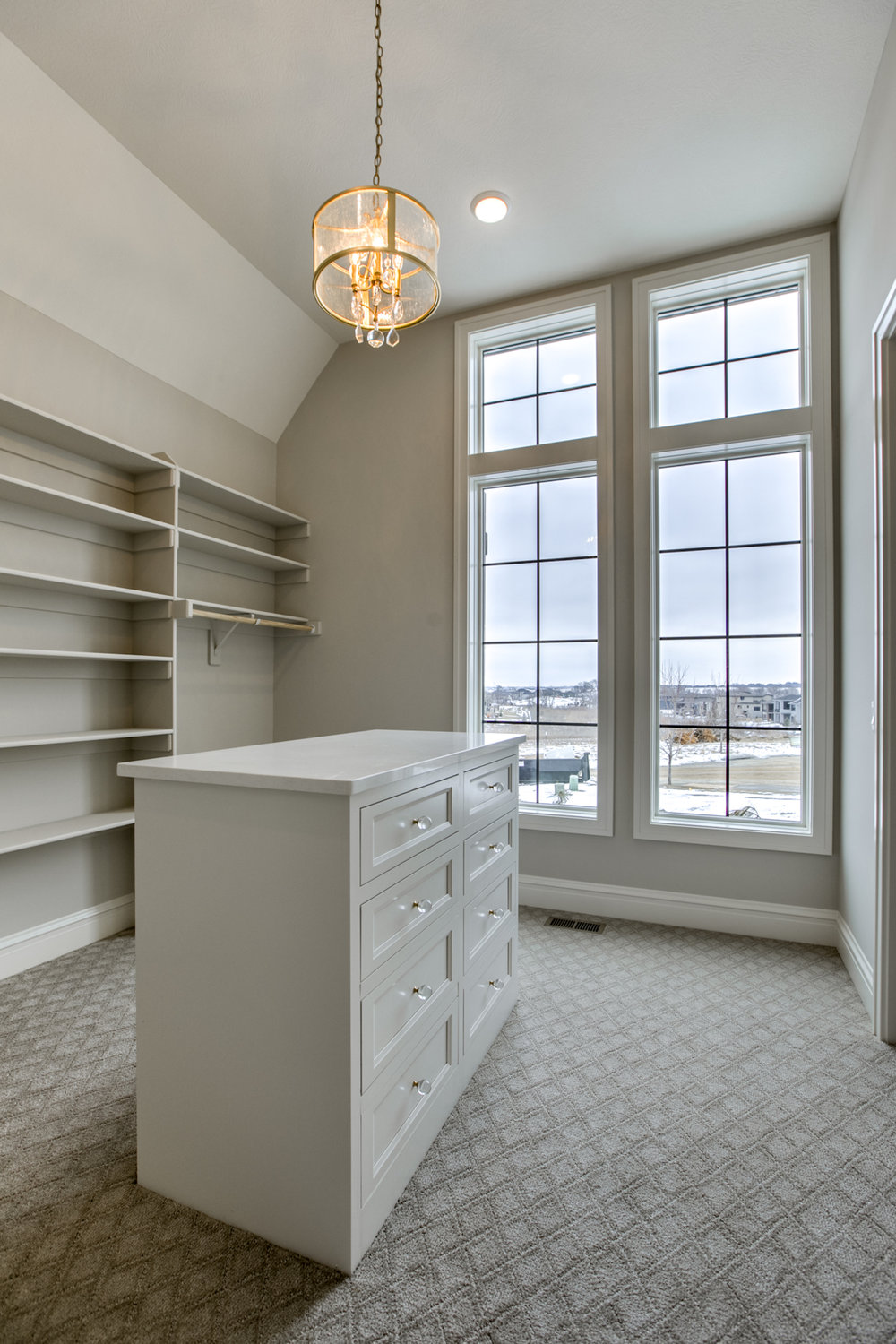 The Master Closet | Nathan Homes