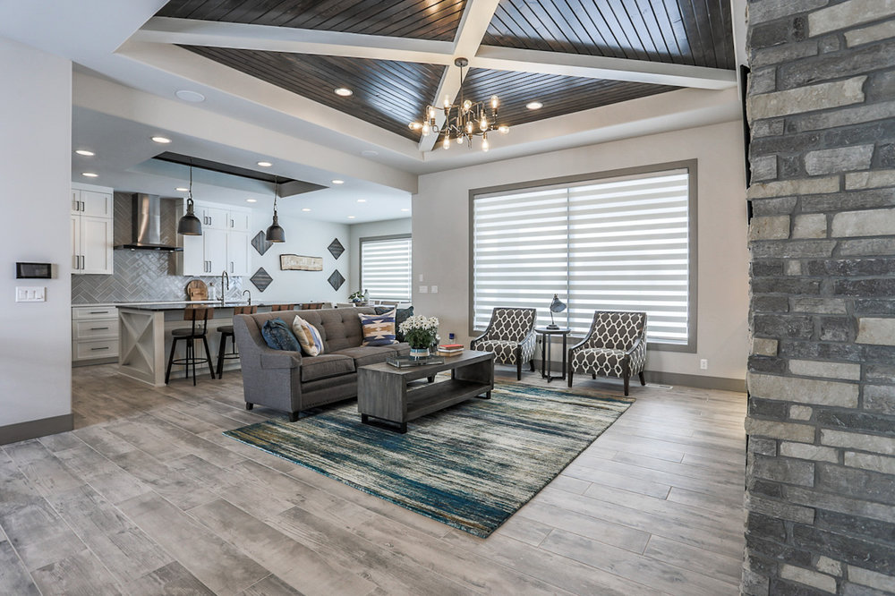 The Living Room | Nathan Homes