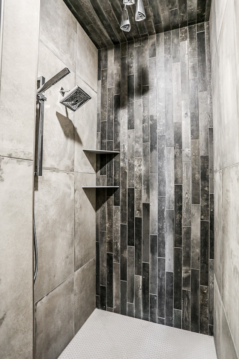 The Master Shower | Nathan Homes