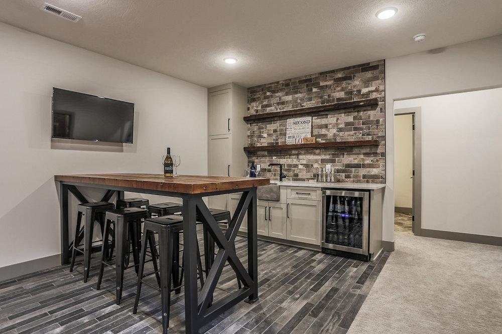 The Wet Bar | Nathan Homes