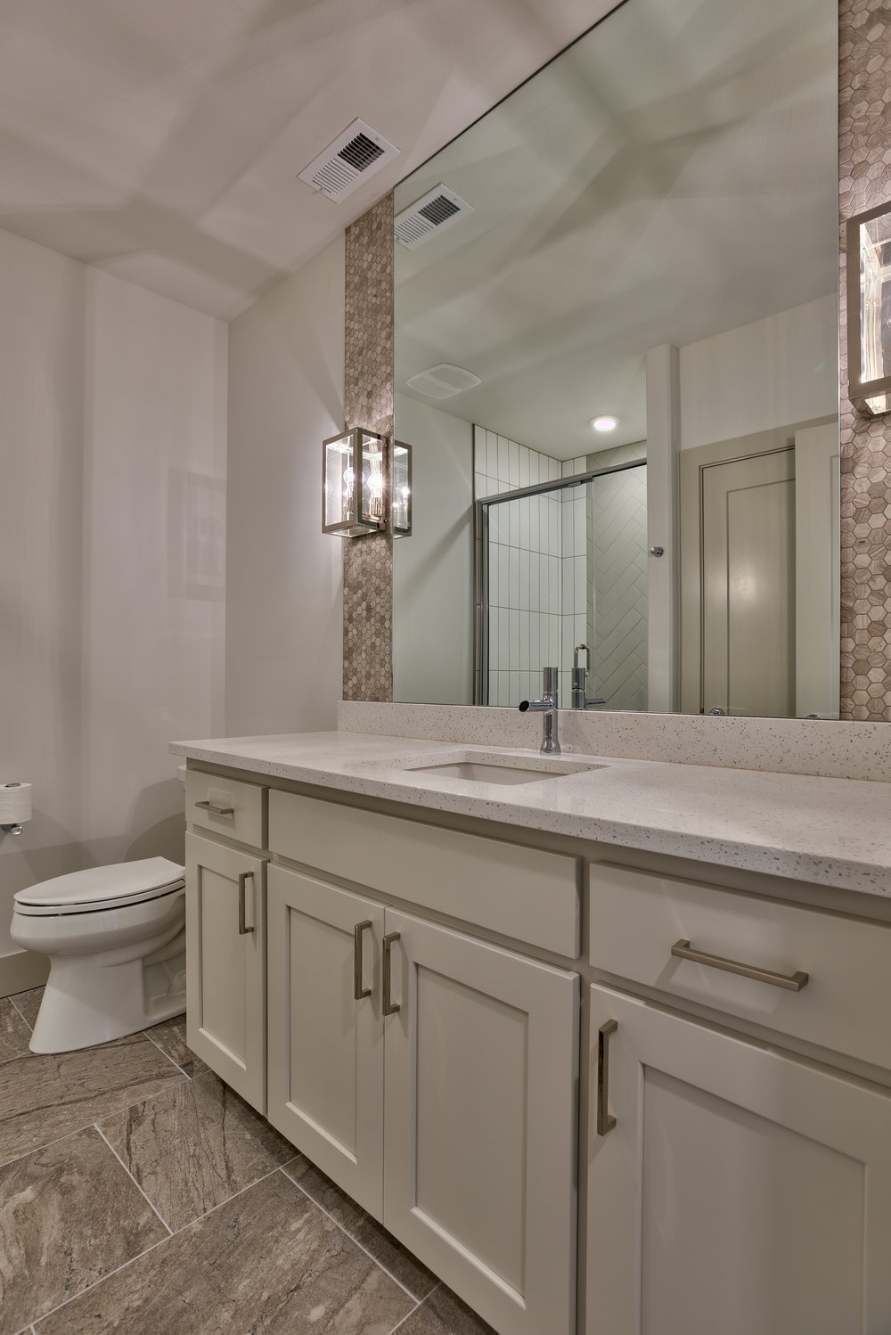 The Basement Bathroom | Nathan Homes