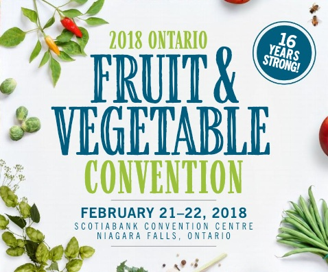 Ontario Fruit and Vegetable Convention -