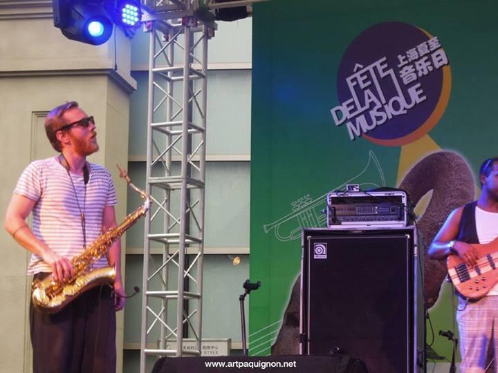 Quentin Paquignon Quartet @ Fete de la Musique Xintiandi Shanghai 2013-4.jpg