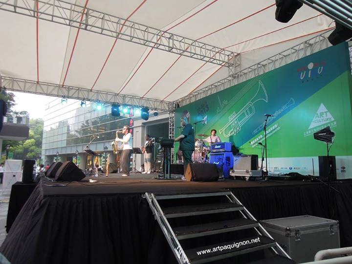 Quentin Paquignon Quartet @ Fete de la Musique Xintiandi Shanghai 2013-11.jpg