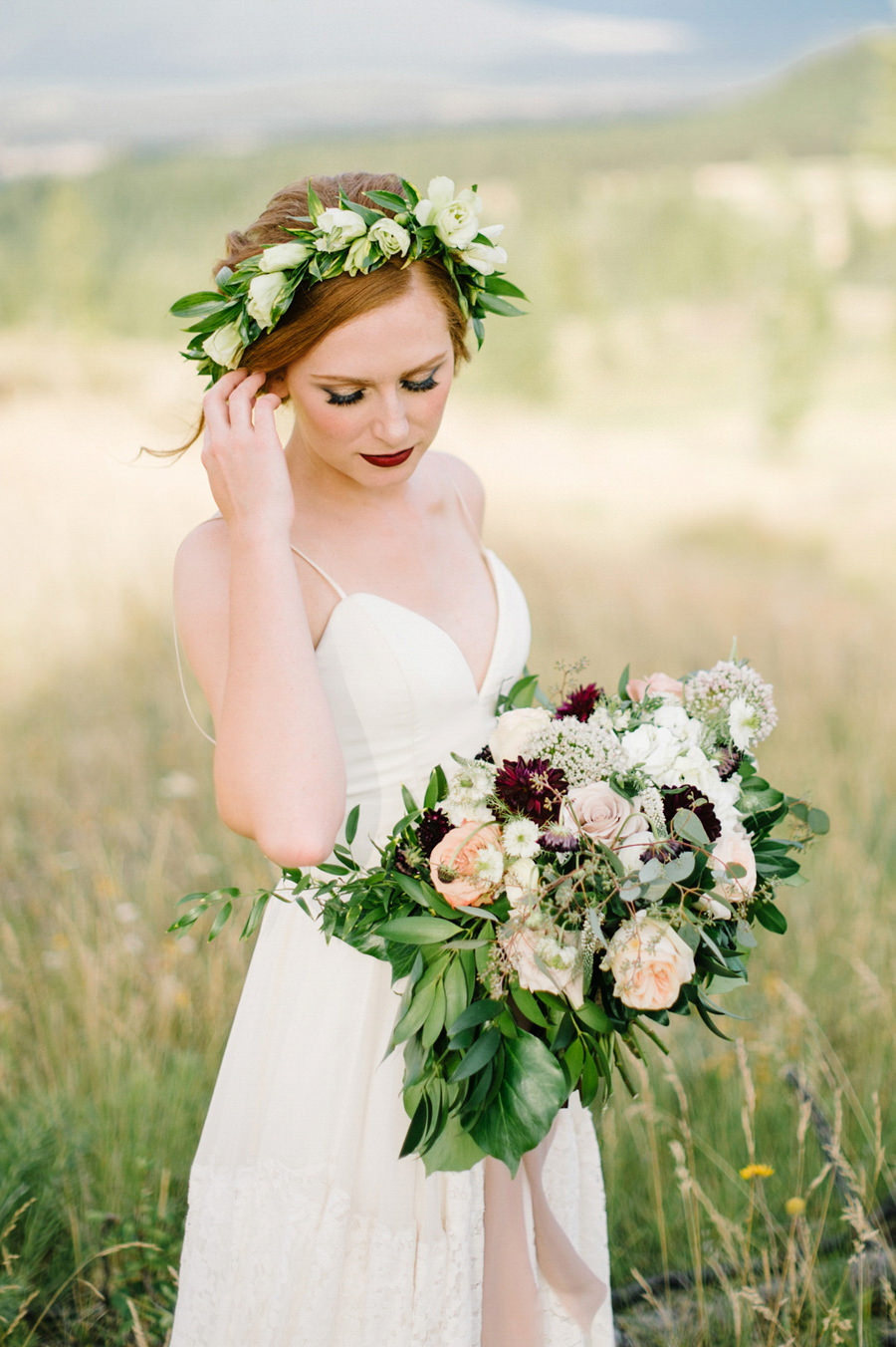 Cherry Creek Estates BC styled wedding shoot