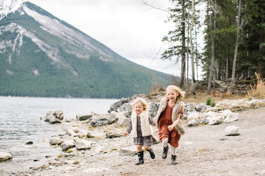 Fall family session in the mountains