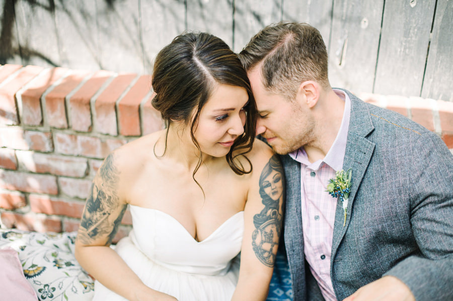 Calgary Backyard Brunch Wedding