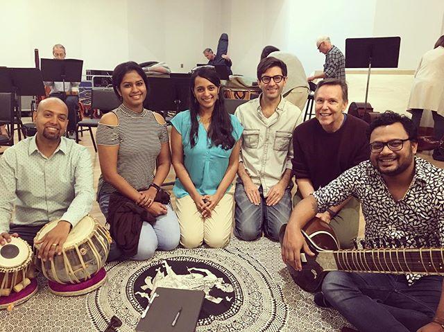 #thislovebetweenus #rehearsal #lamasterchorale #reenaesmail #sitar #tabla #sublime #music