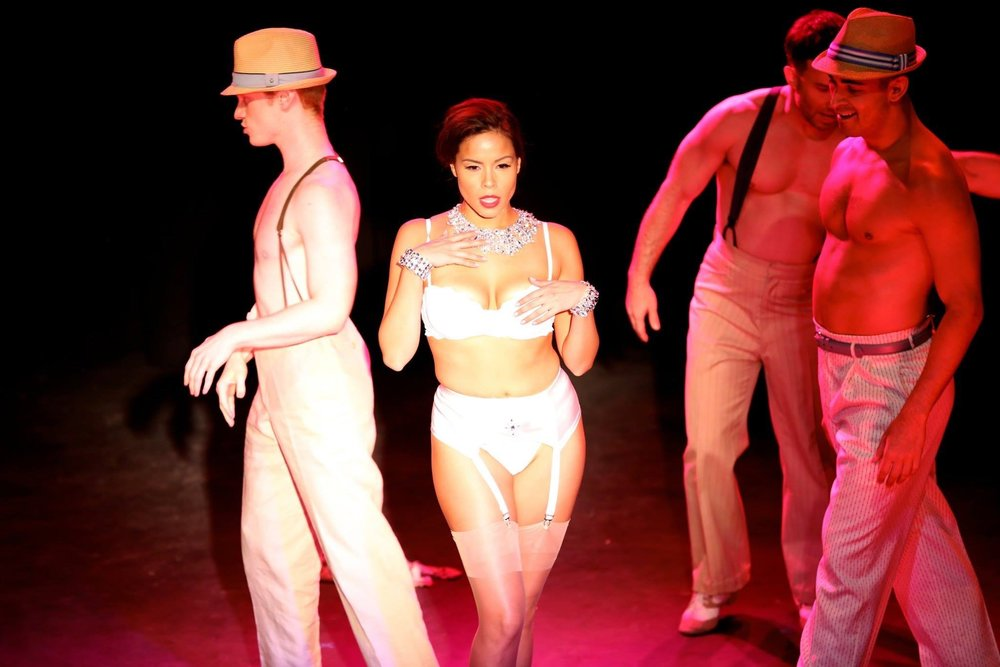 Lead Strip,  Broadway Bares; Fire Island , BC/EFA Directed by: Michael Lee Scott Choreographed by: Sidney Erik Wright